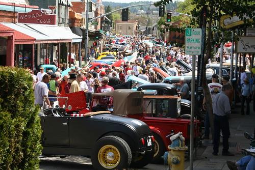 Grass Valley Downtown Car Show