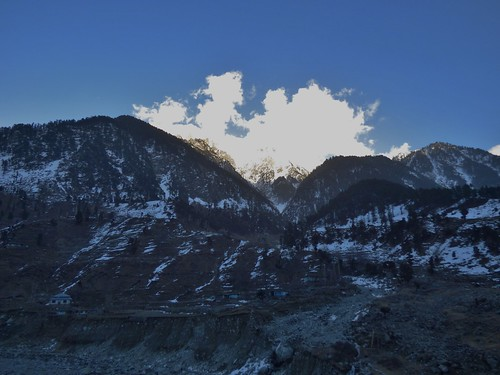 Swat Kohistan (Between Bahrain and Kalam) in the Swat Valley, Khyber Pakhtunkhwa, Pakistan - March 2014