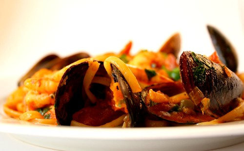 seafood pasta | by Cooking etc.