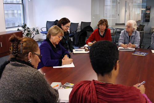 UN Women Executive Director Michelle Bachelet meets with GEAR Latin America Group | by UN Women Gallery