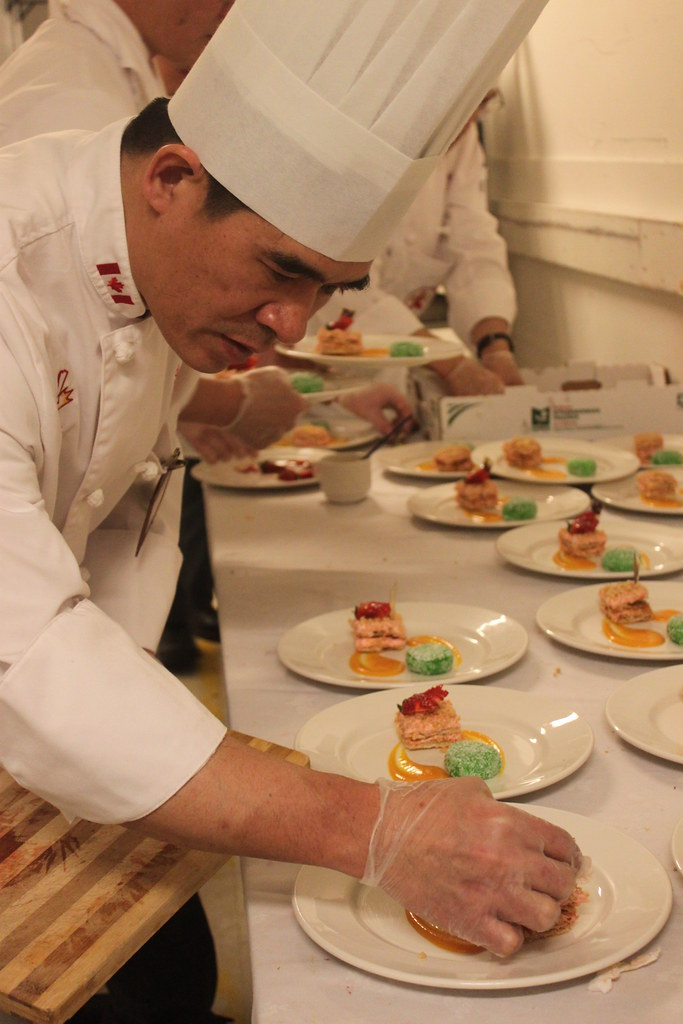 CCA Chefs doing their prep work   Kelly Marion   Flickr