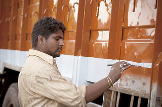 Truck Painter, III | by Meanest Indian