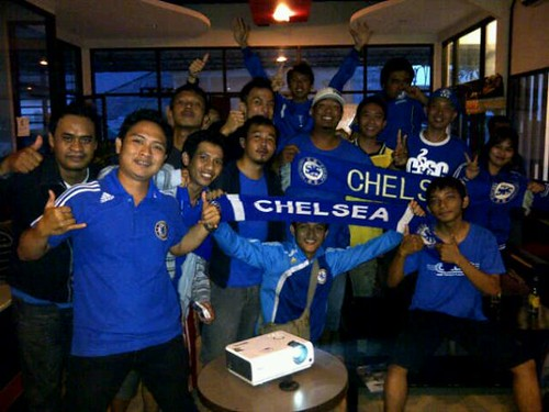 Chelsea Indonesia Supporters Club Regional Bali.... Champions League..CHELSEA vs NAPOLI... | by sportexplorermobi