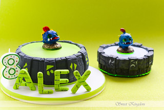 skylanders cake with Wrecking Ball | by Milena ❧