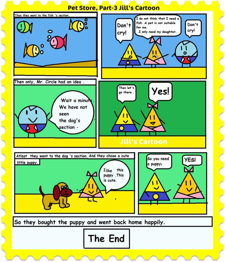 Pet Store ,Part 3 | Jill's Cartoon The storyline revolves ar