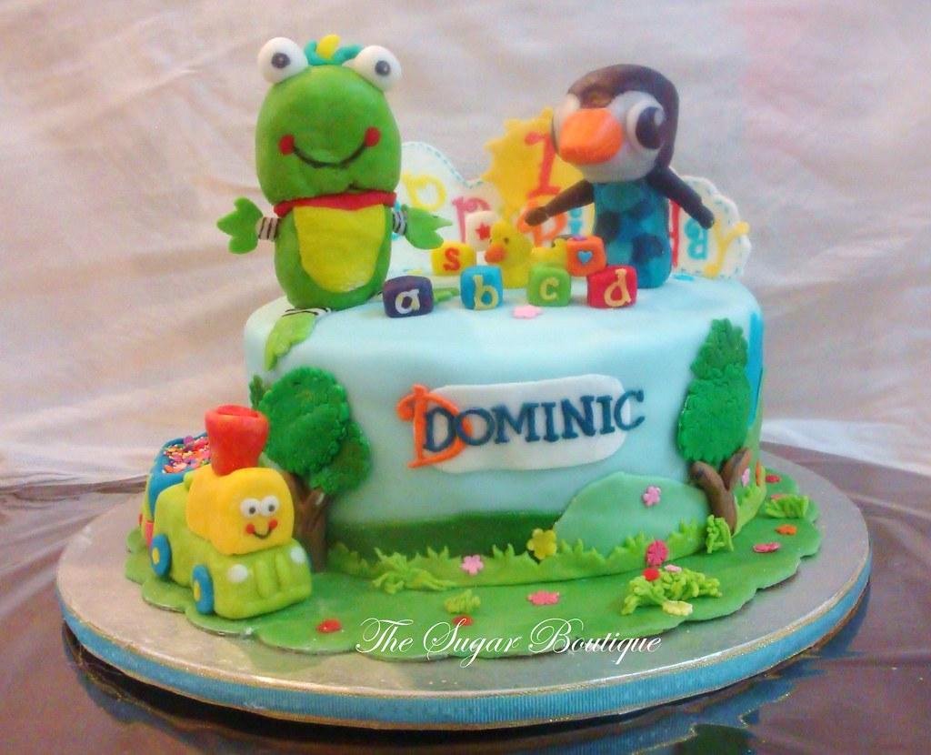 Outdoor Themed 1st Birthday Cake1 First Birthday Cake Bu Flickr
