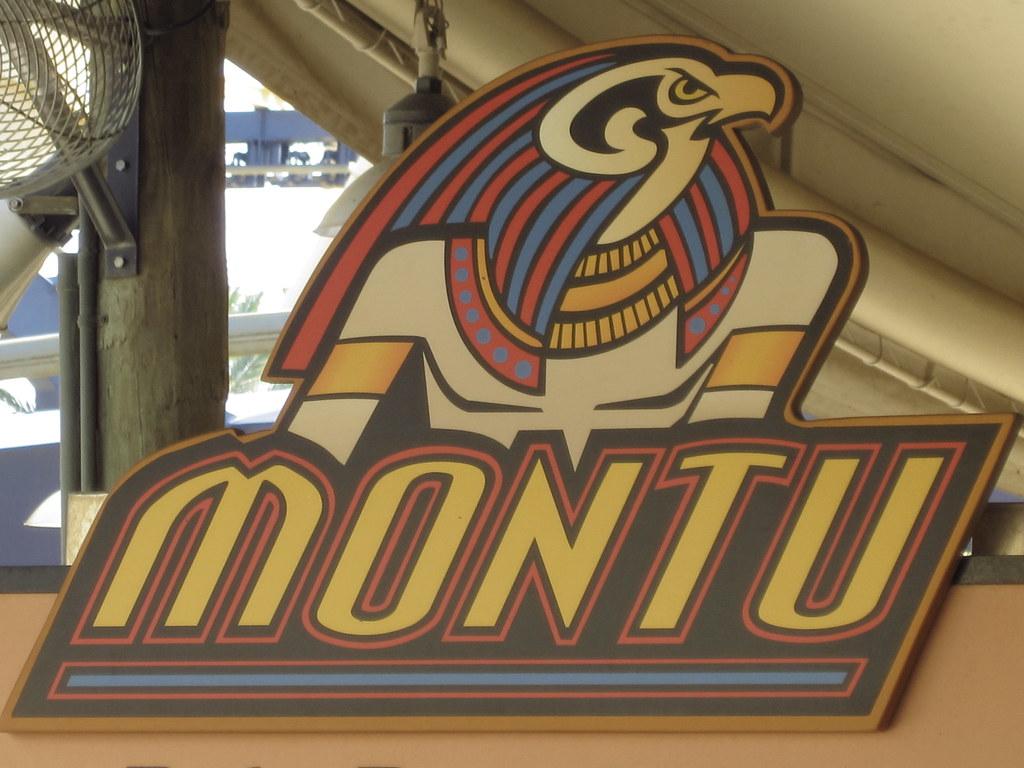 Montu logo   roller coaster at Busch Gardens Tampa Bay   zlandmedia ...