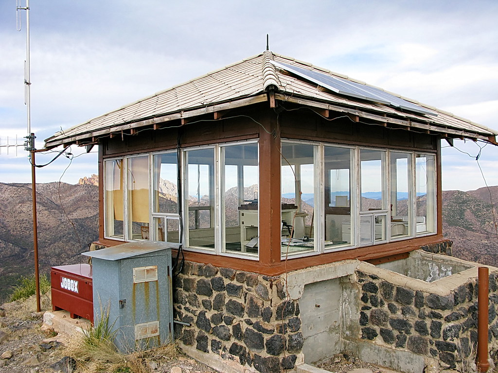 ... Sugarloaf Mountain Fire Lookout Cabin   Chiricahua National Monument |  By Al_HikesAZ