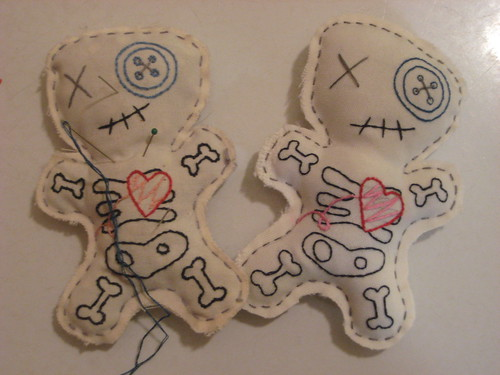 voodoo doll pincushions | by snifferooski