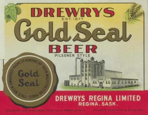 Drewrys Gold Seal Beer | by Thomas Fisher Rare Book Library, UofT