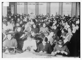 Berlin -- knitting for soldiers  (LOC) | by The Library of Congress