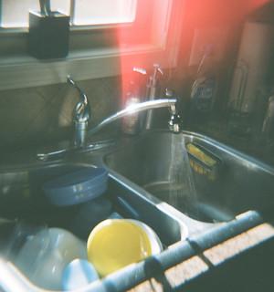 Vintage Kitchen Sink Taps