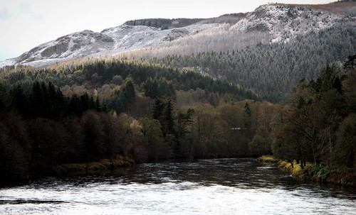 The River Tay at Dunkeld. | by eric robb niven