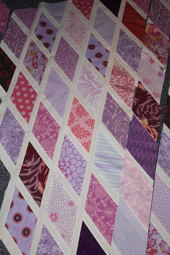 diamond quilt top | by Midwest Family Life