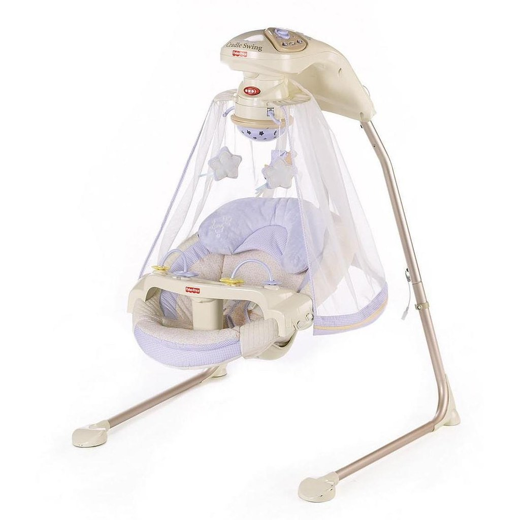 ... Fisher-Price Papasan Cradle Swing Star Light | by compreidireto