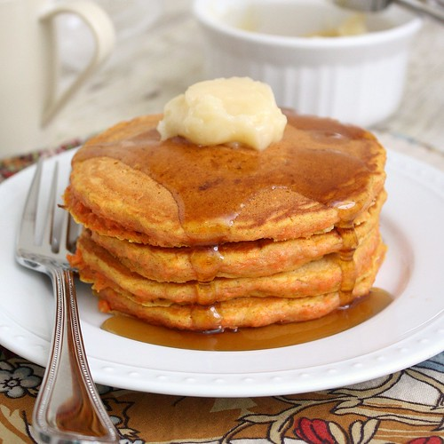 Carrot Cake Pancakes | by Tracey's Culinary Adventures