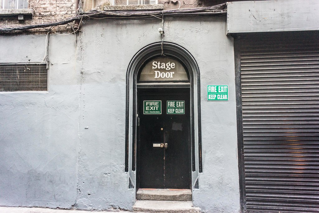 ... Stage Door - Olympia Theatre Dublin | by infomatique & Stage Door - Olympia Theatre Dublin | William Murphy | Flickr