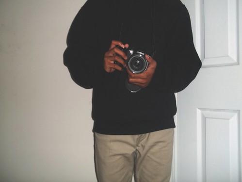 Black Sweater Khaki Pants Brown Shoes