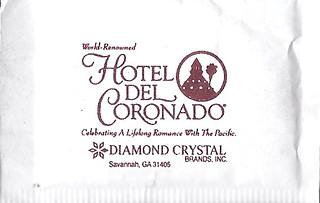 Hotel Del Cornado Sugar Packet | by sugarpacketchad