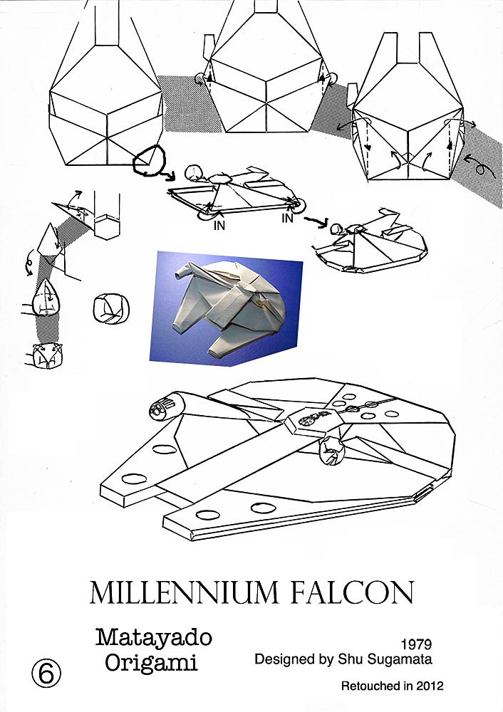 Millennium Falcon Origami Diagram 4 If You Finished To Fol Flickr