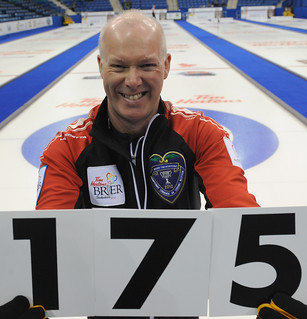 Glenn Howard of Team Ontario - 175th game at the Brier | by seasonofchampions