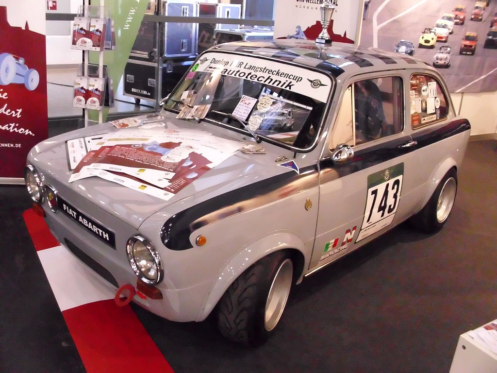 Fabulous Fiat 850 Abarth -1-   Bremen Classic Motorshow 2012   Hog  KD26