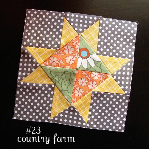 farmer's wife sampler, block 23 | by quirky granola girl