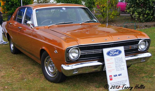 2012 02 12 (37ce) 1967 Ford Falcon XR GT V8 @ Ellerslie-a55v-09 | by Terry Hollis