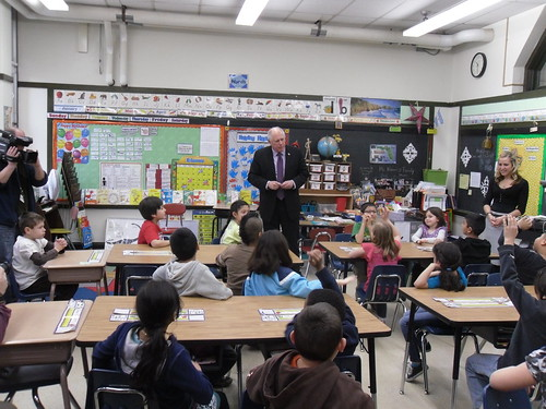 Governor Quinn Calls for 21st Century Classrooms | by GovernorQuinnflickr