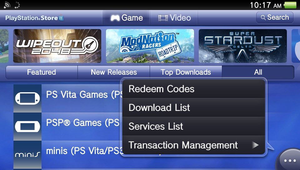 However In The Ps Vita If You Want To Access To Download List You Have To Enter The Store But With The Stored Is Closed You Cant Redownload All Your