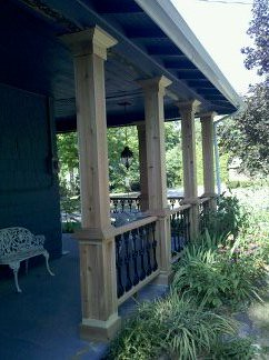 ... Custom Front Porch Posts 3 | By Creative Wood Products Llc