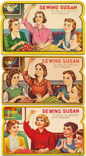 The evolution of Sewing Susan needle book illustrations | by B-Kay