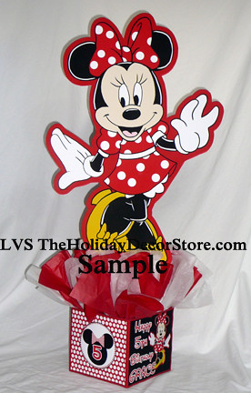Mickey Mouse Clubhouse Personalized Minnie Birthday Party