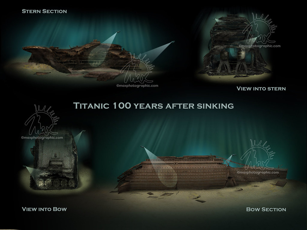 Titanic Wreck Comp Max Ellis Flickr