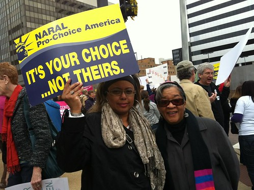 Rally at Sen. Blunt's office in Missouri | by naralprochoiceamerica