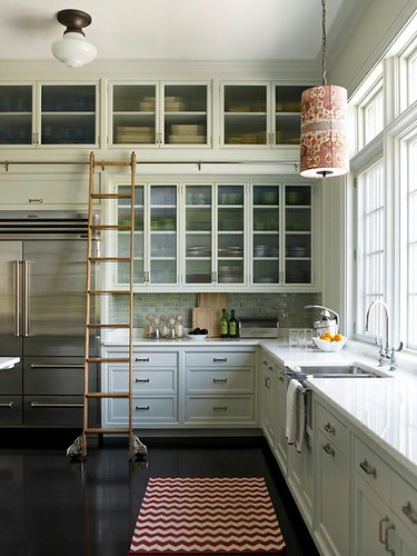 library ladder kitchen | by The Estate of Things