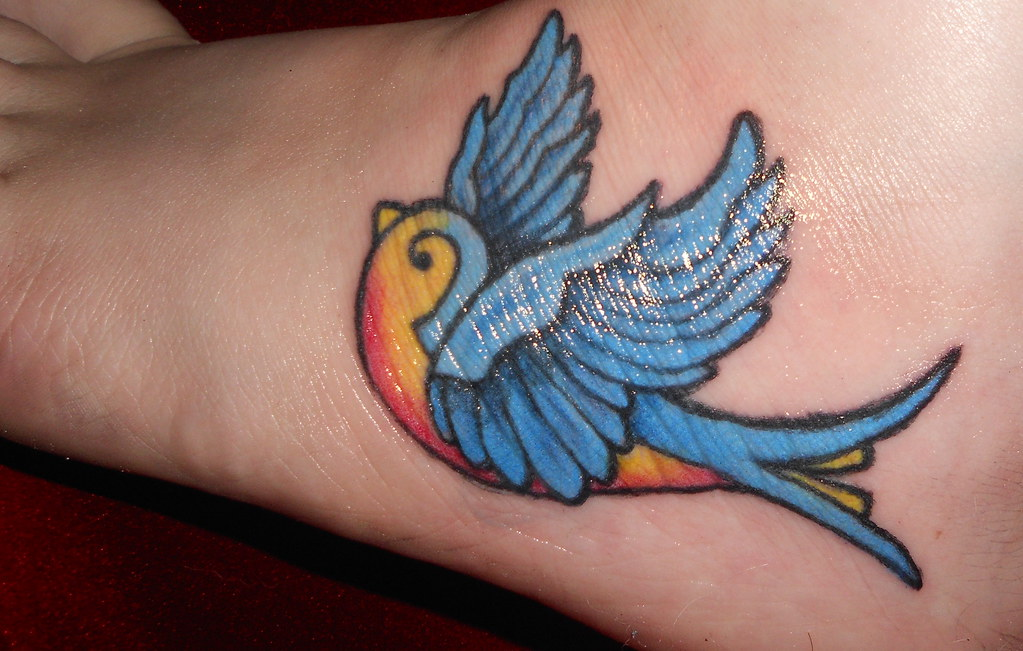 Bluebird Tattoo | pickle races | Flickr