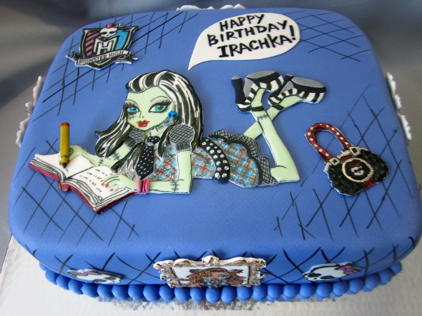 Monster High Frankie Stein Birthday Cake Lyudmila Ivanova Flickr