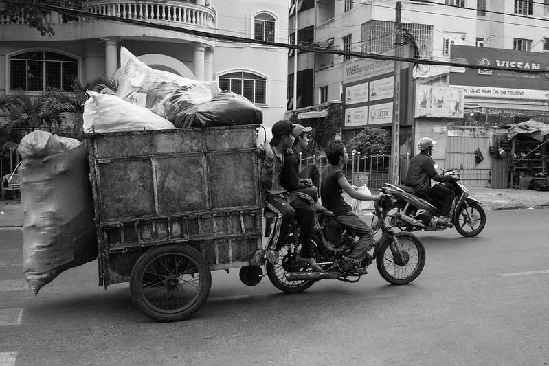 Xe chở rác