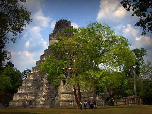 Magnificent Temple In The Mayan City Of Tikal (In Guatemala) | by Butch Osborne