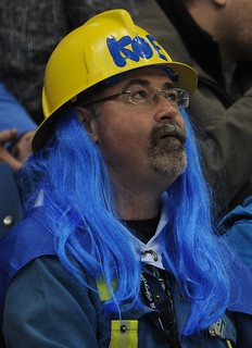 Blue-haired fan | by seasonofchampions