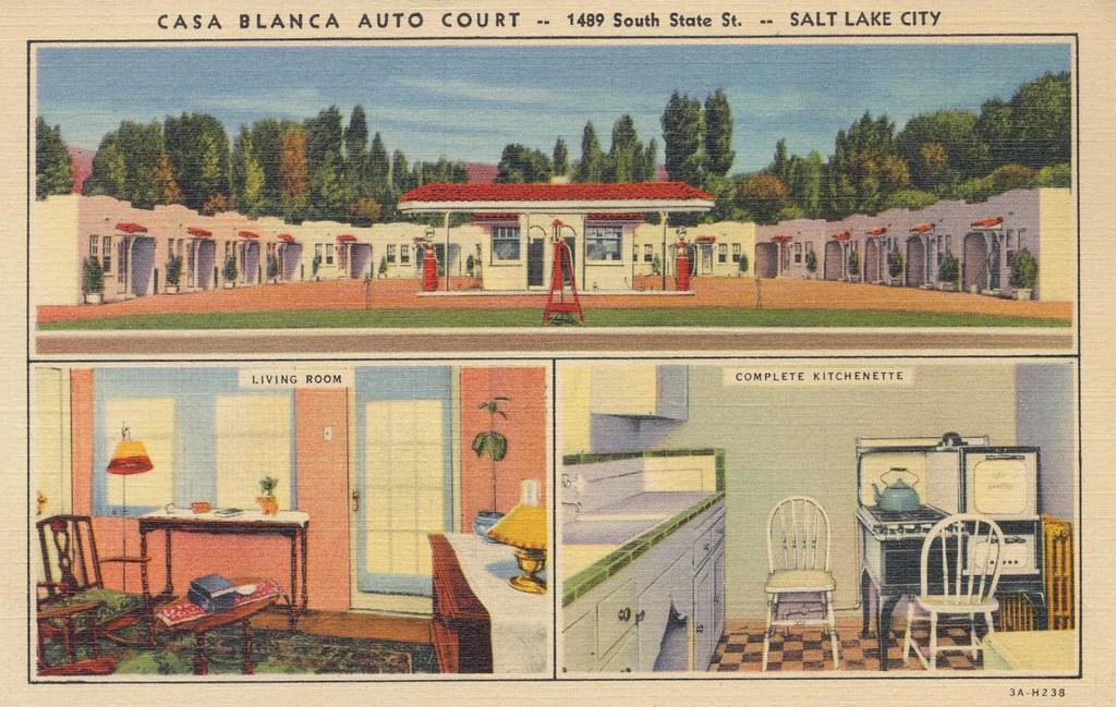 Casa Blanca Auto Court - Salt Lake City, Utah