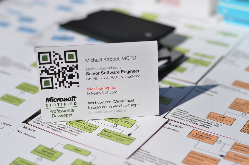 Professional Business Cards | Microsoft Certified Profession… | Flickr