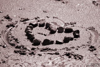 Heart on the beach 2 | by J@ck_UK
