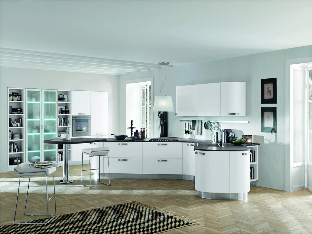 Cucina moderna bianco opaco | Gicinque Cucine - cucina moder… | Flickr