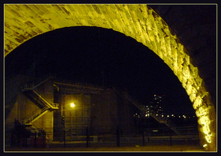 Stone Arch Bridge at Night | by strandviewphotos