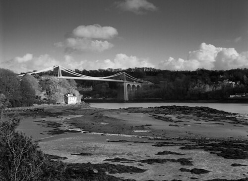 Menai Bridge | by brucemilburn