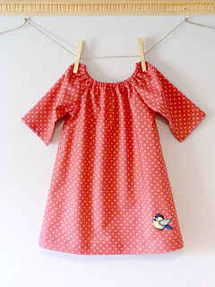 Pink Polka Dot Charlotte Dress | by Sarah - LouBeeClothing