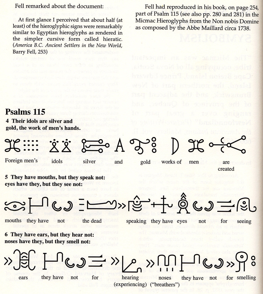 Micmac indian hieroglyphs symbolism the book of mormon lin flickr micmac indian hieroglyphs symbolism by egyptian symbols the anthon transcript buycottarizona Image collections