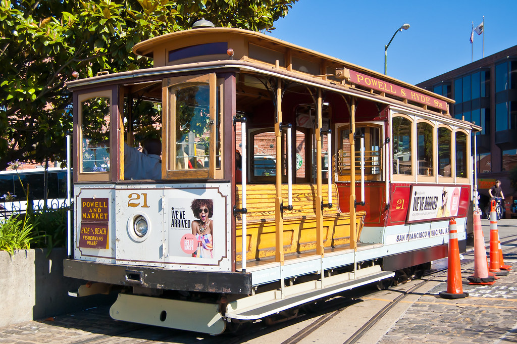 USA / California / San-Francisco / Cable Car 04